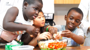 Timberwolves, Hy-Vee & MATTER Inspire Kids to Eat Healthy