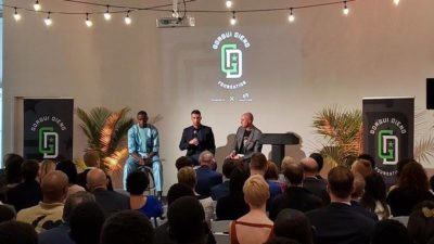 Gorgui Dieng Foundation and MATTER Event