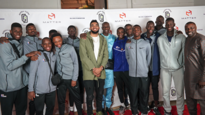Timberwolves at Gorgui Dieng Foundation